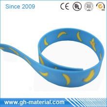 Web revestido do plástico impermeável alto da resistência de abrasão na cor diferente
