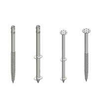 Hot Galvanized Ground Anchor, Ground Screw