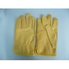 Schwein-Leder-Handschuh-Industrie-Handschuh-Sicherheits-Handschuh-Gewicht Heben Handschuh