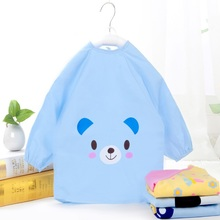 Cotton Cute Bear Printing Waterproof Smocks
