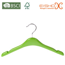 Small Size Green Plastic Kids Hanger (pH016)