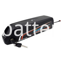 Down Tube Electric Bike Battery