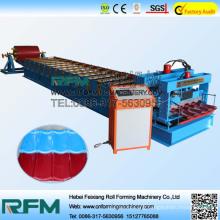 High precision trapezoidal glazed tiles sheet machine in china