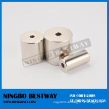 Printed Ring Magnet mit Vakuumverpackung