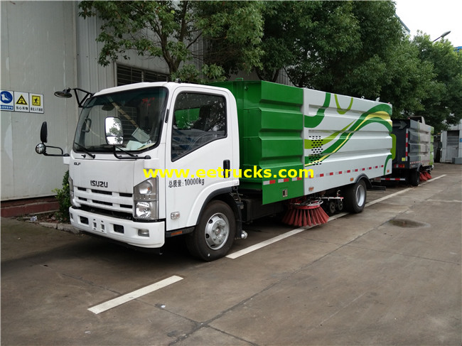 ISUZU 4x2 5000L Street Cleaning Trucks