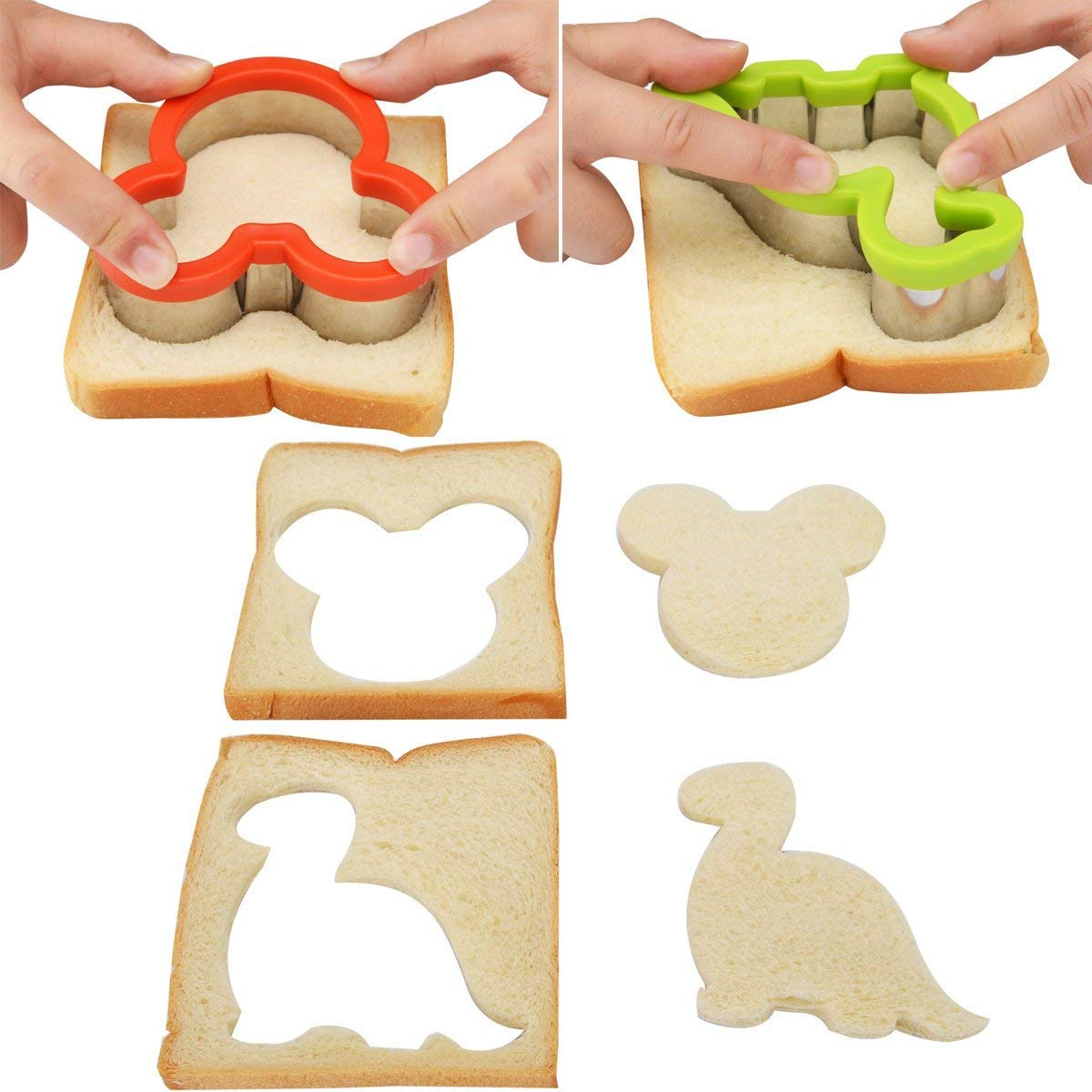 sandwich cutter set