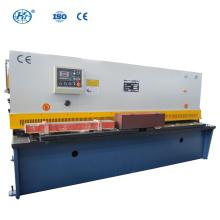 QC12Y-8X2500 NC Machine de cisaillement hydraulique à poutre oscillante Machines à cisailler à poutre oscillante cnc