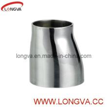 Aço inoxidável Butt-Weld de aço inoxidável com extremidades retas Redutor excêntrico