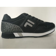 Outdoor Athletic Black Sports Shoes for Men