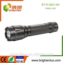 Fabrik Versorgung CE ROHs Cree XPE 3W Aluminium 3aaa Notfall Taktische Fackel Qualitätssicherung Langstrecken-Taschenlampe