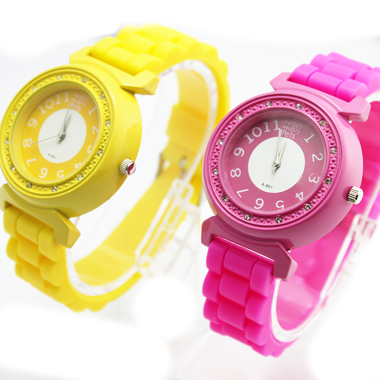 wristwatch 3ATM waterproof jelly digital watches