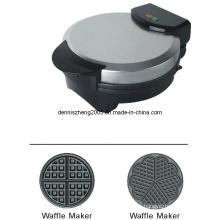 Elétrico de waffles, redondo coração em forma de máquina de fazer Waffle belga