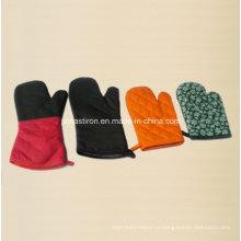 Термостойкие открытые перчатки из хлопка для барбекю