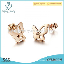 Schöner Schmetterlingsohrring, netter Ohrringgroßverkauf
