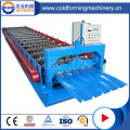 High Speed Colored Steel ZhiYe Roof Tile Forming Machine
