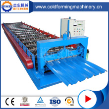 Automática de acero de color ZhiYe IBR Steel Roof Machines