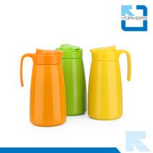 Moda 304 aço inoxidável água e chá chaleira / pote com plástico shell