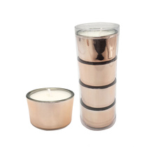 Oem Mini Fine Colored Candles With Packaging