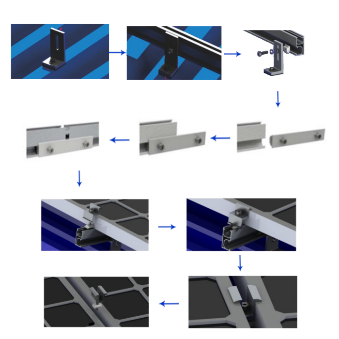 mounting brackets for roof