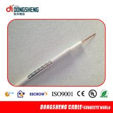 Низкоуглеродный кабель RG11 CCTV / кабельный кабель CATV / коаксиальный кабель