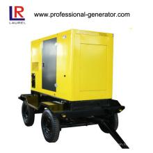 Mobile 50kVA 40kw Movable Diesel Trailer Generator