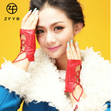 New style elegant fashion top girls hand gloves without fingers