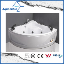 Corner ABS Board Whirlpool Bathtub with 13 Jets (AB0824)