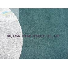 Floqué tissu mélangé de Poly coton pour l'habillement