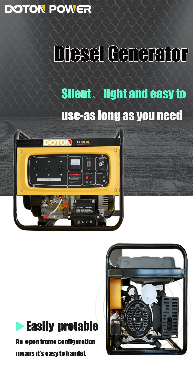 diesel generator 5kw