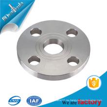 SS304 placa de brida de acero blanco DN50 PN10 brida de buena calidad