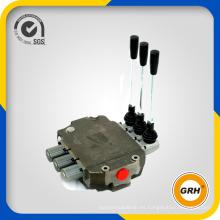Válvulas hidráulicas de dirección múltiple para maquinaria de construcción