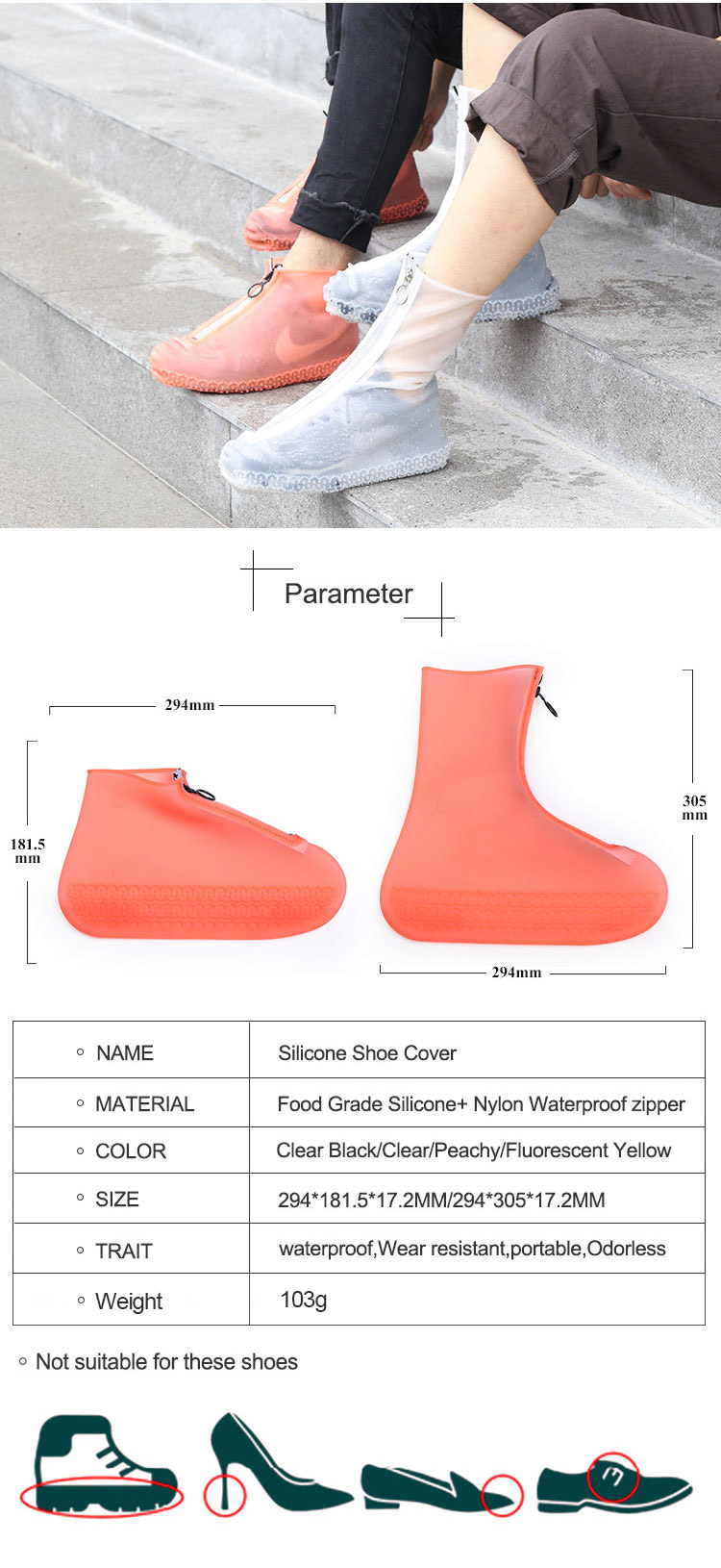 Waterproof Shoe Covers For Walking