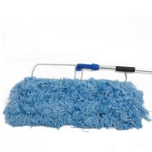 Magic Floor Cleaning Flat Ceiling Mop Floor Easy Cleaner Microfiber Industrial Mop Aluminum Handle Mop Indoor Cleaning Rectangle