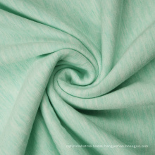 Melange Rayon Polyester Spandex Fleece Fabric