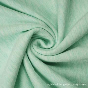 Sweats à capuche en tissu éponge français en molleton de polyester viscose