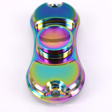 2017 New Rainbow Color Alloy Metal Fidget Hand Finger Spinner