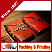 Caderno do couro do plutônio / blocos do bloco de notas / esboço (4212)