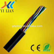 Multi core UTP cat5 10 pair cable 0.5mm OFC communication cable