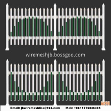 Plastic Garden Fence /PVC Steel Picket Fence