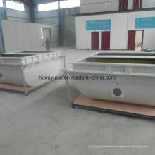 Produtos personalizados da fibra de vidro da dessanilização tais como as tubulações e os tanques