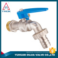 """brass tap with lock chrome plated brass color 1/2*3/4"""" PTFE seated sand blasting basin mounted water brass bibcock lock tap cap"""
