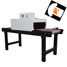 TM-IR-400 T-Short Infrarot-Tunnelofen zum Trocknen von Druckmaschinen