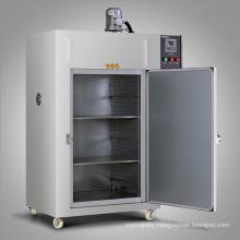 Industrial air blasting drying oven large power motor digital display PID control double door design