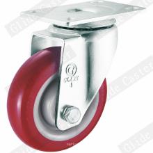 Mittelschwere PU-Lenkrolle (G3201)