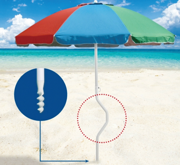 ABS Beach Umbrella Pole Anchor