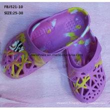 Slipper Style Casual EVA Sabots Chaussures de jardin pour les enfants (FBJ521-10)
