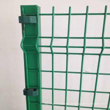 2X4 polegadas galvanizado v dobra cerca de malha de arame de proteção soldada