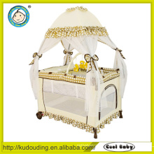 Comfortable new style baby playpen stroller