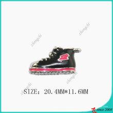 Acessórios de metal esmalte tênis sapatos charme (SPE)