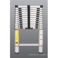 Escalera telescópica de aluminio
